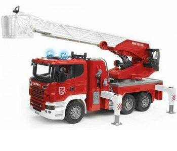 Bruder Scania R-Serie Brandweer met Spuit en Sirene