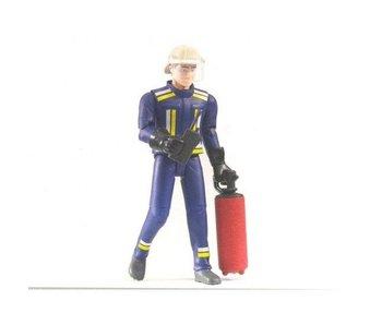 Bruder 60100 - Brandweerman met Brandblusser