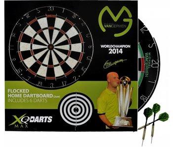 Dartbord - Michael van Gerwen XQ Max Wereldkampion 2014