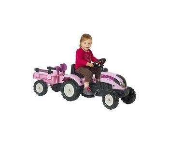 Falk 'Princess Trac' roze traptractor