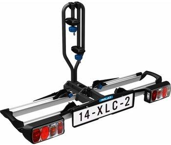 Fietsendrager XLC Azura 2F (opklapbaar)