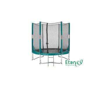 Hi-Flyer 06 Combi trampoline 1.80m. + veiligheidsnet + ladder