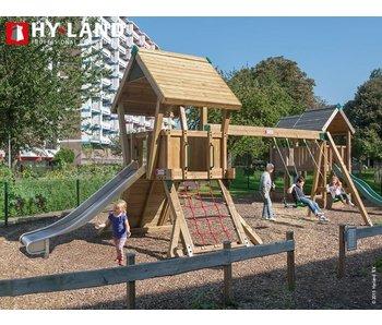 Hy-land Speeltoestel Q2-S RVS Glijbaan