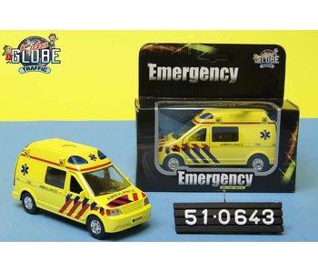 Kids Globe Ambulance m.licht/geluid