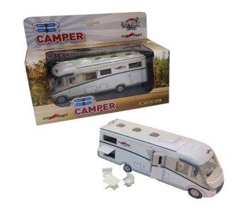 Kids Globe Camper Carthago met licht, pullback 16 c