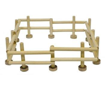 Kids globe houten hekken 4st. 1:24
