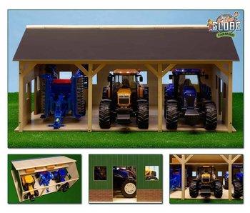 Bruder Kids Globe loods voor tractoren Bruder