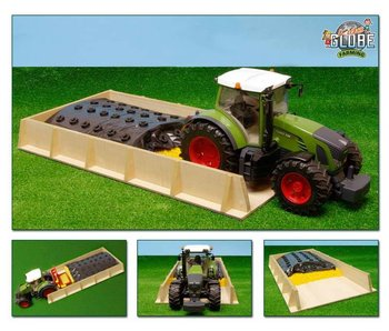 Kids Globe sleufsilo voor Bruder tractoren 1:16