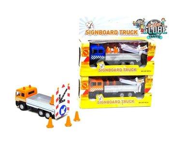 Kids Globe Verkeersborden truck