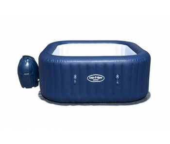 Bestway Lay z Spa Hawaii donker blauw 180x180x71