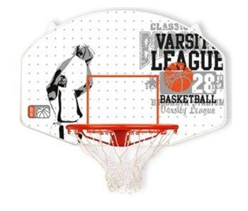 New Port Basketbal bord met ring en net