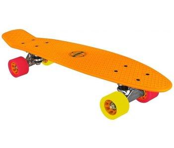 Nijdam plastic skateboard oranje