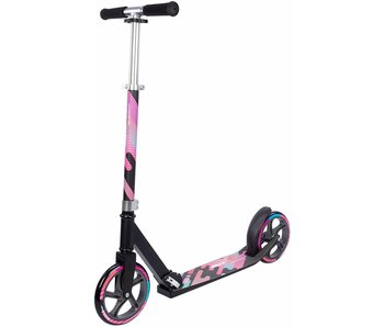 Nijdam vouwstep - Urban Rider 200 Roze/Blauw/Zwart