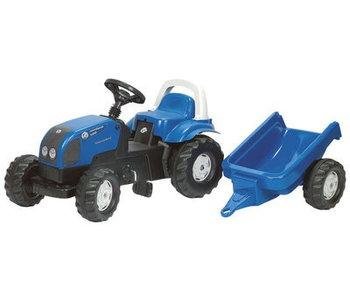 Rolly toys RollyKid Landini Power Farm 100  traptrekker met aanhanger