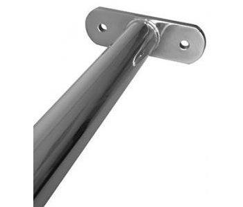 Metalen RVS Duikelstang 125 cm