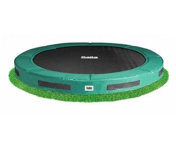 Salutoni Inground premium trampoline - Groen (o 427 cm)