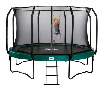 Salta trampoline first class superior 305 cm met veiligheidsnet en gratis trapje