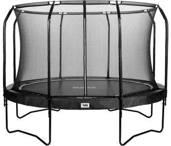 Salta trampoline Premium Black Edition met veiligheidsnet 251 cm+ gratis trapje