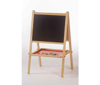 Schoolbord met magneet whiteboard