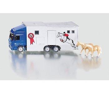 Siku 1942 Truck voor paardenvervoer 1:50