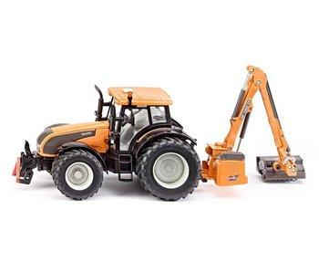 Siku 3659 Valtra tractor met bermmaaier 1:32