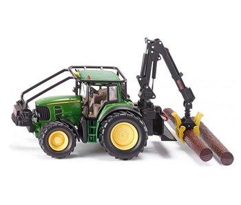 Siku 4063 John Deere tractor met bomengrijper 1:32