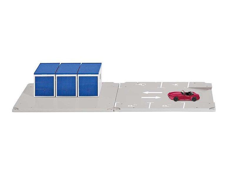 Siku 5589 World - Garage en parkeerplaats