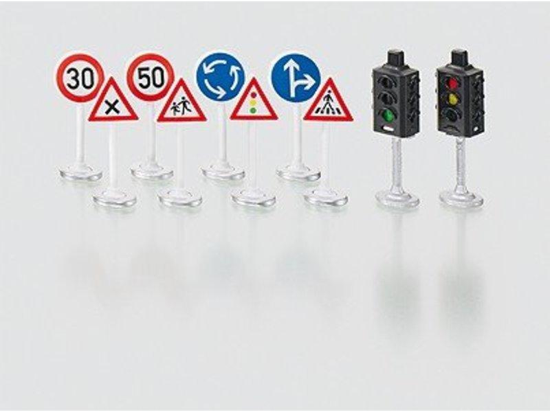 Siku 5597 Set verkeersborden en -lichten