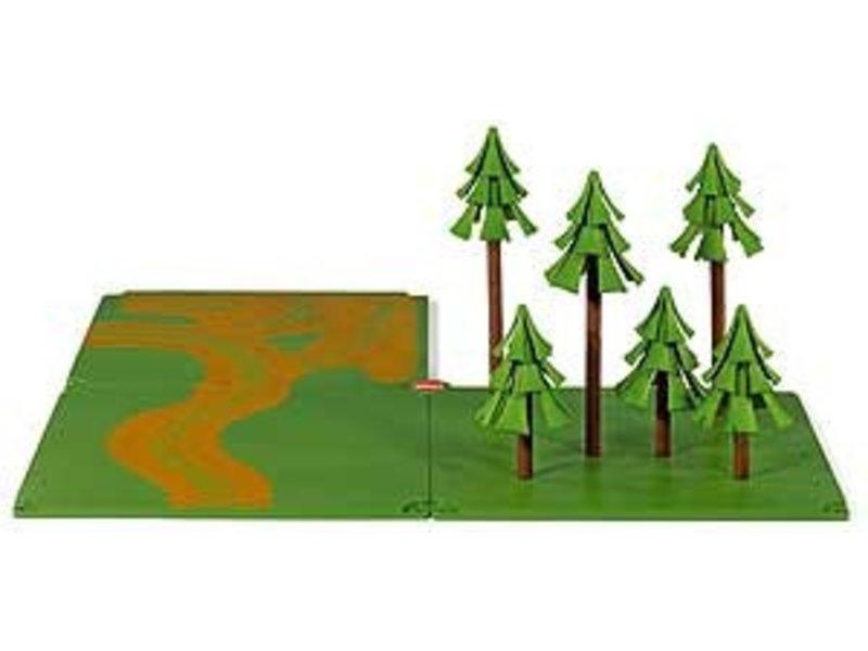 Siku 5699 World - landweg en bos
