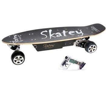 Skatey SKATEY 250 elektrisch skateboard zwart