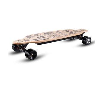 Skatey SKATEY 2800 elektrisch skateboard Lithium Wood Art
