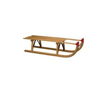 Slede hout Davos 100cm