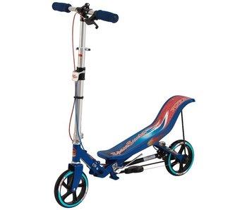 Space Scooter blauw + Beschermset