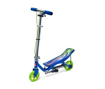 Space Scooter Junior blauw