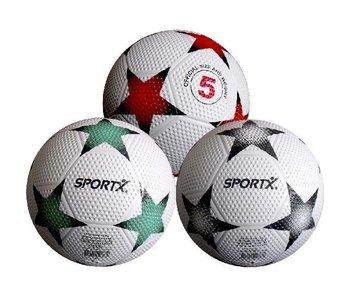 SportX Rubber Bal Star 3 Kleuren