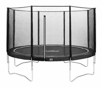 Salta trampoline met veiligheidsnet 366 Zwart