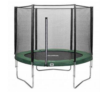 Salta trampoline met veiligheidsnet 183  groen + gratis trapje