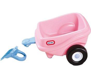 Little Tikes cozy coupe trailer roze