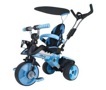 Injusa trike city blauw