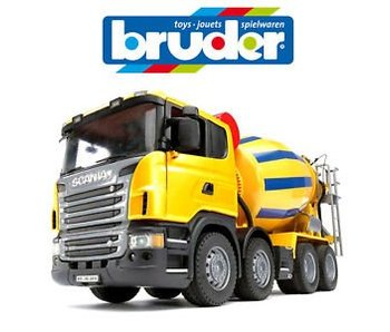Bruder Scania cement mixer