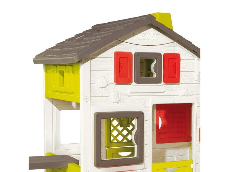 Smoby friends House Incl. Buiten Keuken