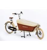 Bakfiets.nl dekzeil Cargobike long: zwart, crème of rood