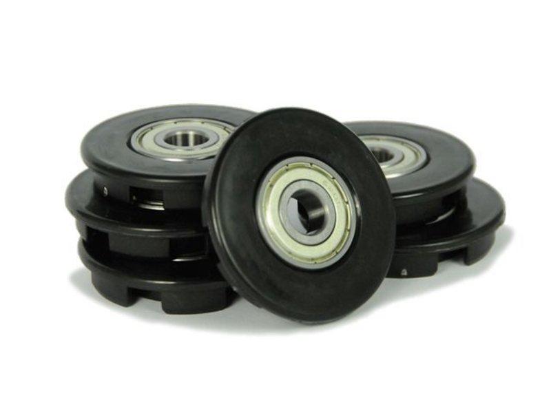BERG Buddy - Wielkappen 12mm zwart (6x)
