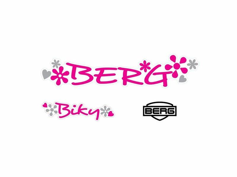 BERG Biky - Stickerset White