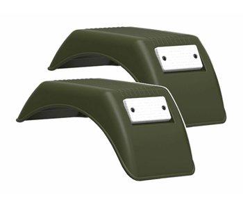 BERG XL Frame - Achterspatborden 90° Jeep®