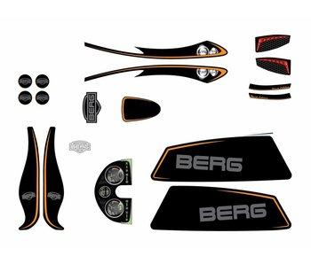 BERG XL Frame - Stickerset Black Edition
