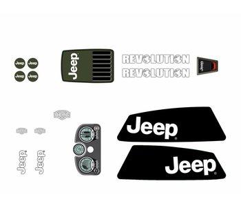 BERG XL Frame - Stickerset Jeep® Revolution