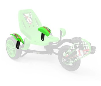 BERG Street X - Spatbord groen met drager
