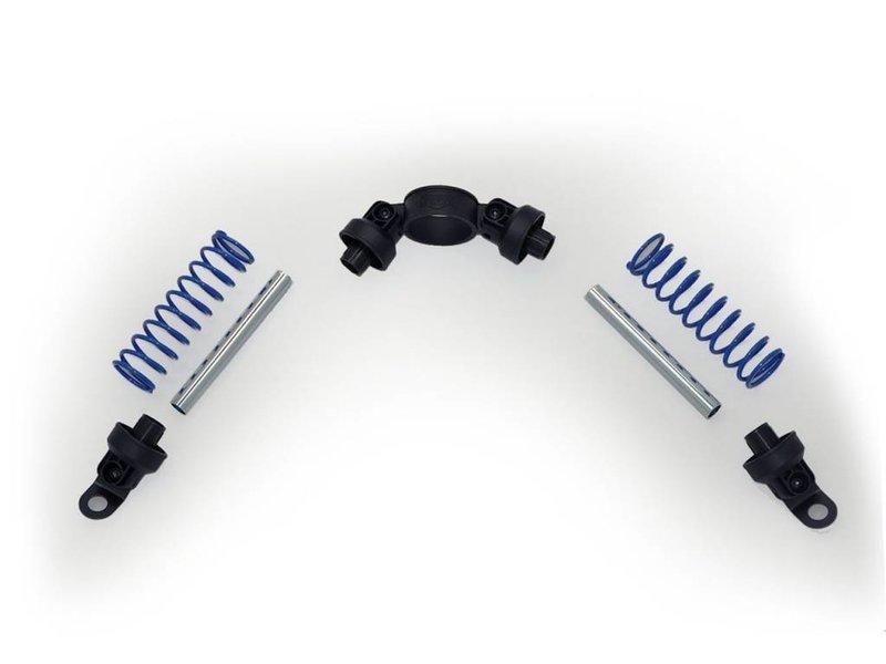 BERG Buzzy - Schokbreker blauw (2x)