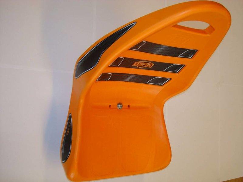 BERG Rally - Stoel Orange met frame